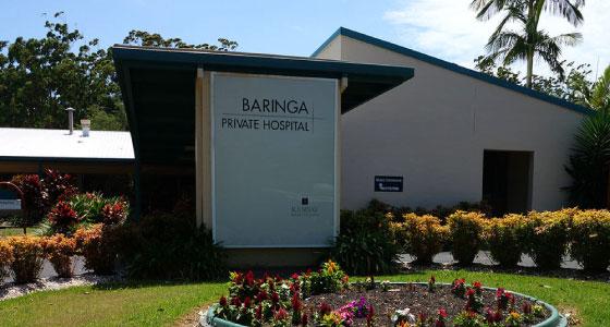 baringa private hospital
